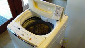 レンタルで納品した洗濯機