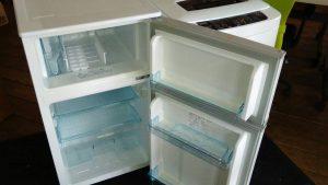 レンタルで納品した冷蔵庫、洗濯機の写真