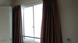 レンタルで納品したカーテンの写真
