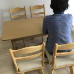 東京都 江東区 女性 回転チェア テーブルセット 家電レンタル 家具レンタル 格安 便利 処分