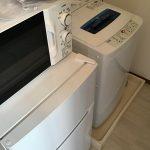東京都 世田谷区 男性 レンジ 冷蔵庫 洗濯機 格安 家電レンタル 新生活
