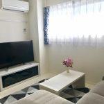 埼玉県さいたま市でらくらく家電3点セット・テレビ台・ローテーブルを家具家電レンタルしていただきました