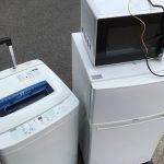 埼玉県 撤去 2年半使用 家電レンタル 格安レンタル 便利 回収