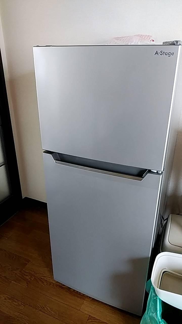 家電レンタル118L冷蔵庫の写真