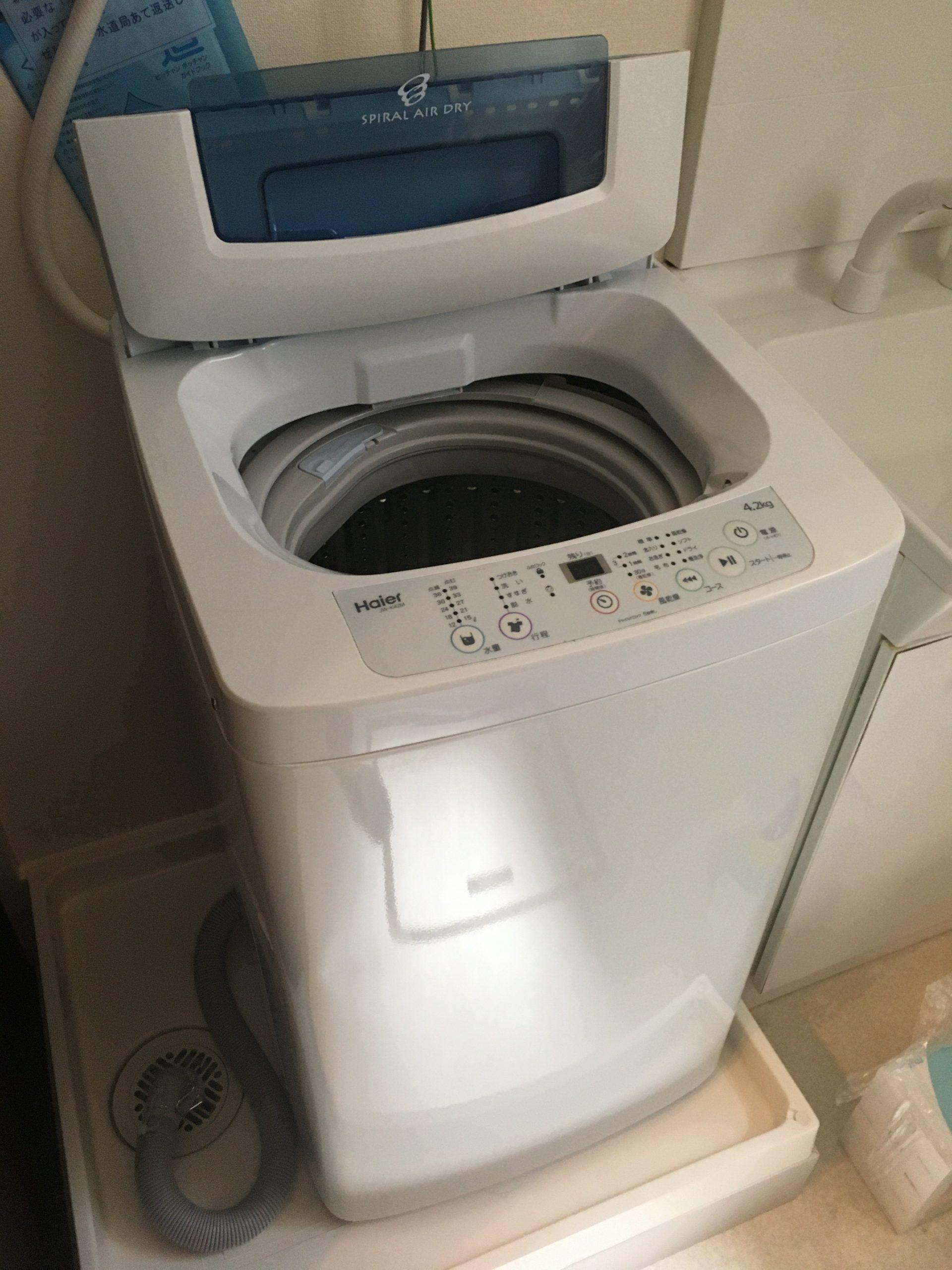 家電レンタル4.2k洗濯機の写真