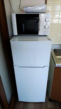 家電レンタル冷蔵庫・電子レンジの画像